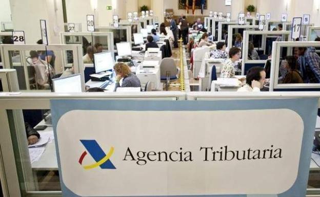 Cubículos declaración de la renta agencia tributaria